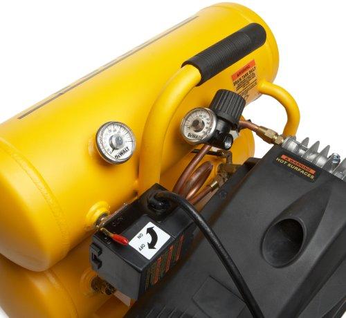 DEWALT D55151  14 Amp 2-1/2-HP 4-Gallon Oiled Twin Hot Dog Compressor
