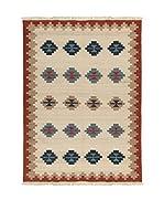 Kilim Carpets by Jalal Alfombra In Kilim Jaipur Ney (Beige/Marrón)