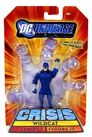 Buy Low Price Mattel DC Universe Infinite Heroes Crisis Wildcat Black Suit Variant Series 1 Figure 15 (B002J290AS)