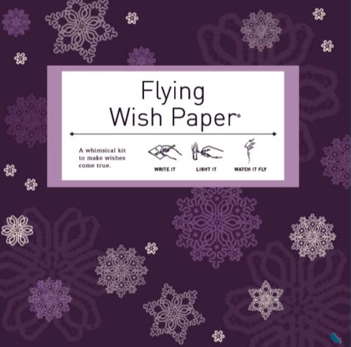 Happy Birthday Flying Wish Paper