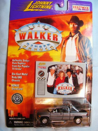 Johnny Lightning Chuck Norris Walker Texas Ranger Dodge Truck by Johnny Lightning (Walker Texas Ranger Truck compare prices)
