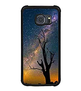 Printvisa Ultra Starry Night 2D Hard Polycarbonate Designer Back Case Cover for Samsung Galax...