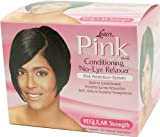 Luster's Pink No-Lye Relaxer Kit Relaxer - Regular Kit (Pack of 2) by Lusters