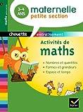 Activités de maths Petite section 3-4 ans