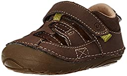 Stride Rite SRT SM Antonio Sandal (Infant/Toddler),Brown,3 M US Infant