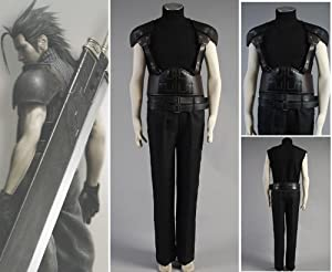 Final Fantasy 7 VII ZACK FF7 Cosplay Costume