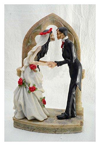 Wedding Skeleton Cake Topper Bride Groom Halloween Party Supply Figurine Best Selling Prod Halloween (Face Painting For Skeleton Costume)