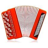Clé USB 2Go - instrument de musique accordéon rouge (USB 2.0)