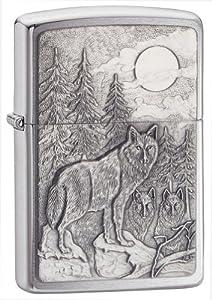 Zippo Timberwolves Emblem Lighter by Zippo