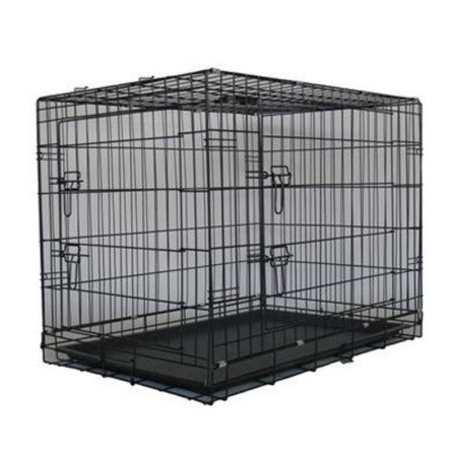 Collapsible Plastic Dog Crate