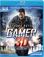 Gamer 3D [3D Blu-ray + Blu-ray + UltraViolet] by Lionsgate Home Entertainment