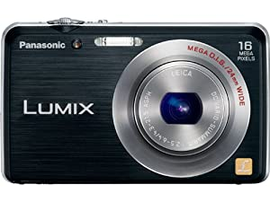 Panasonic Lumix DMC FH-8 16.1 MP Digital Camera with 5x Wide Angle Optical Image Stabilized Zoom (Black)