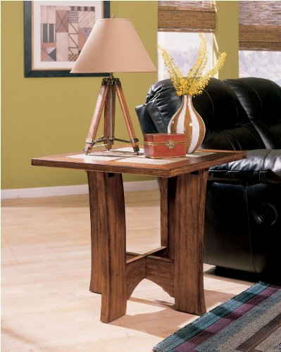 "Cheap Branch End Table by ""Famous Brand"" Furniture (T763-2)"