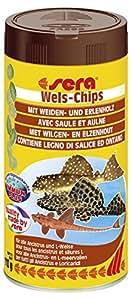 Sera Wels-Chips, 1er Pack (1 x 250 ml)