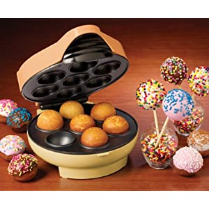 Nostalgia Electrics JFD-100 Cake Pop & Donut Hole Bakery