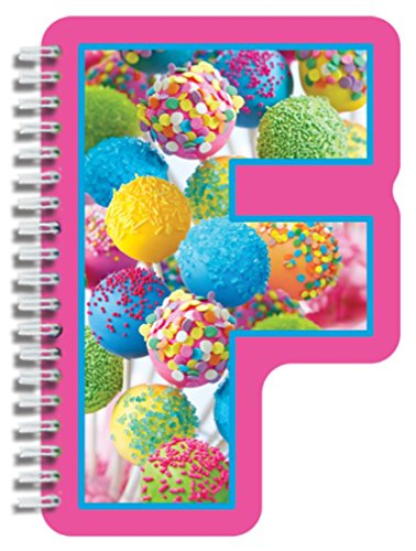 iscream Letter F Shaped Initial Notebook - 1