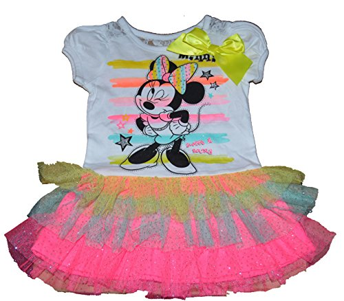 Toddler Minnie Mouse Dress front-5414
