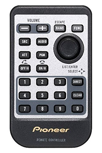 Pioneer CD-R510 Card Remote Control (Honda Odyssey Dvd Remote compare prices)