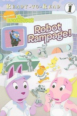 Robot Rampage! [BACKYARDIGANS # ROBOT RAMPAG] [Paperback] (Backyardigans Robot Rampage compare prices)