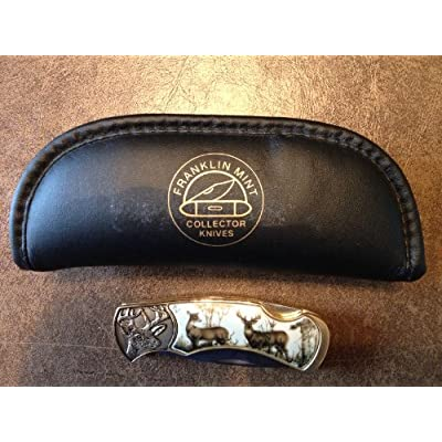Mint Collectible Knife - The Official 10-Point Buck Collector Knife