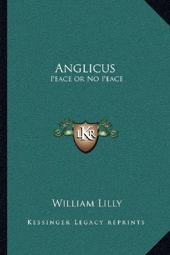 Anglicus: Peace or No Peace