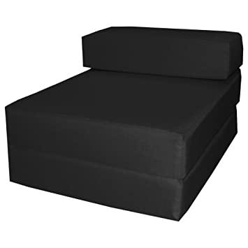 gilda lit d 39 invit noir noir fresco chaise chauffeuse d plier lit d 39 appoint d. Black Bedroom Furniture Sets. Home Design Ideas