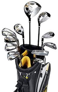 Golden Bear Men's Wide Track 16-Piece GGS Golf Set (Left Hand)
