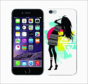 Galaxy Printed 2964 Tribal Chic Cato Hard Cover for Apple Iphone 4