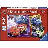Ravensburger 09305 - Disney Cars: Auf der Rennstrecke - 3 x 49 Teile Puzzle