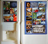 Fridgemag Home Collage Frame 16 X 24, Photo Organizer Product for Fridge Door - Great Kitchen Gift Idea for Your Best Family Pictures