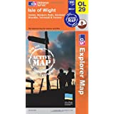 Isle of Wight (OS Explorer Map Active)by Ordnance Survey
