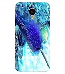 ColourCraft Lovely Feather Design Back Case Cover for MEIZU BLUE CHARM NOTE 3