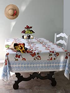 Chasing Butterflies ~ French Country Butterfly Tablecloth 108x70