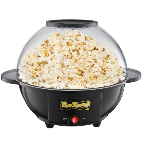 Great Northern Popcorn Pop Frenzy 6-Quart Popcorn Popper Self Contained Popper (Self Contained Popcorn Popper compare prices)