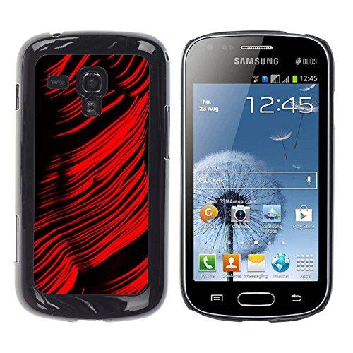 - Grand Canyon Red Woman Figure - Slim Guardia cassa dell'armatura del telefono- For Samsung Galaxy S Duos S7562 Devil Case