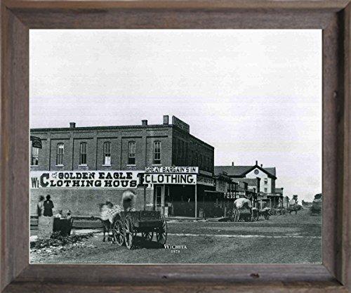 vintage golden eagle clothing house wichita city barnwood