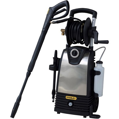 1800 Psi Electric Pressure Washer, 20' Hose, 35' Pwr Cord, Heavy-Duty For Tough