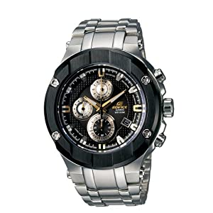 Casio Men's EFX500D-1A9V Edifice Gold 500 Series Chronograph Watch