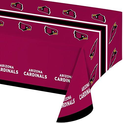 Creative Converting All Over Print Arizona Cardinals Plastic Banquet Table Cover