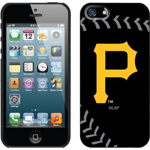 Special Sale Pittsburgh Pirates - stitch design on iPhone 5 Thinshield Snap-On Case by Coveroo