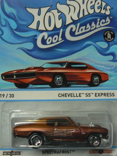Hot Wheels Cool Classics Spectrafrost 19/30 Chevelle SS Express - 1