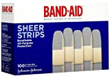 Band-Aid Sheer Comfort Flex Bandage, 1 Inches x 3 Inches, 100 Count