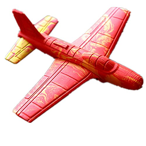 Combination Toys Roundabout aircraft Toy plane Foam Toys Classic childhood toy Crashworthiness light Customize the Fly (Jetblue Model Plane compare prices)