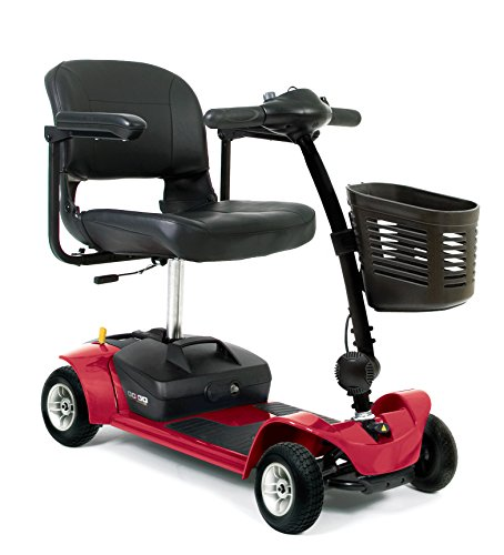 Go-Go Ultra X 4 Wheel Travel Mobility Scooter - Red