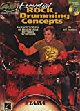 img - for Essential Rock Drumming Concepts - An Encyclopedia of Progressive Rhythmic Techniques: Musicians Institute Master Class (Book/CD) Paperback - November 1, 2013 book / textbook / text book