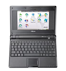 ASUS Eee PC 4G (7-Inch Display, Intel Mobile Processor, 512 MB RAM, 4 GB Hard Drive, Linux Preloaded) Galaxy Black