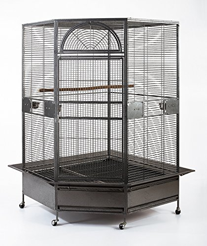 Flyline Parrot Escape Jumbo Corner Bird Cage Aviary (X-large)