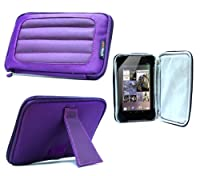 Navitech Purple Hard Neoprene Protective Case Cover For The Verizon Ellipsis 7 MV7A Tablet from Navitech