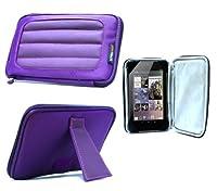 Navitech Purple Hard Neoprene Protective Case Cover For The Verizon Ellipsis 7 MV7A Tablet from Navitech