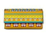ShopMantra owl pattern Multicolor Ladies Wallet LW00000235